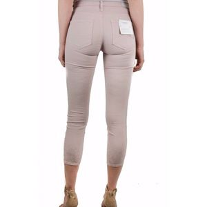Ag Adriano Goldschmied Jeans - AG dusty pink skinny jeans